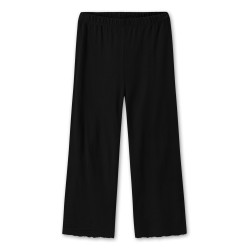 By Basics wide pants Black