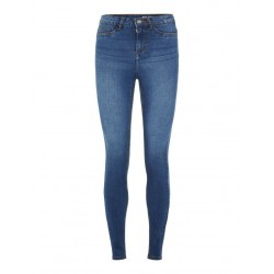 Noisy May Callie Skinny High Waist denim benlængde 32
