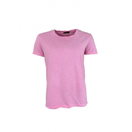 Black Colour tshirt ISA Candy pink